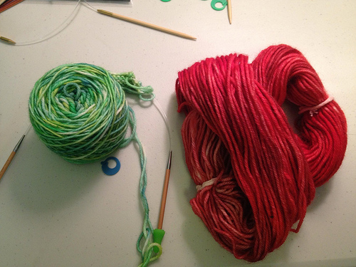 Hooking my nephews on yarn (part 1)